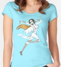 Air Nymph  Women's Fitted Scoop T-Shirt