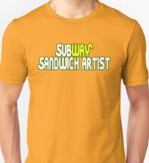 Subway sandwich artist Unisex T-Shirt
