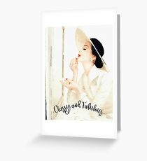 Coco chanel quote greeting cards redbubble classy and fabulous greeting card m4hsunfo
