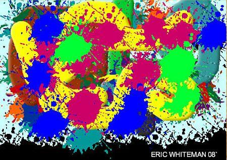 (ST NORMAL DAIMOND II ) ERIC WHITEMAN  ART  by eric  whiteman