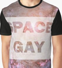 Space Gay Graphic T-Shirt