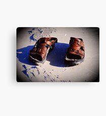 Sandals Canvas Print