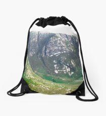 The Poisoned Glen, Donegal, Ireland Drawstring Bag