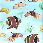 Fish Swimming by Denise Davis