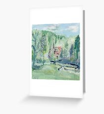 Tranquil Heaven Greeting Card