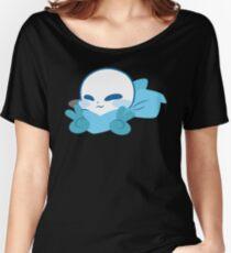 Sans (blueberry) Women's Relaxed Fit T-Shirt