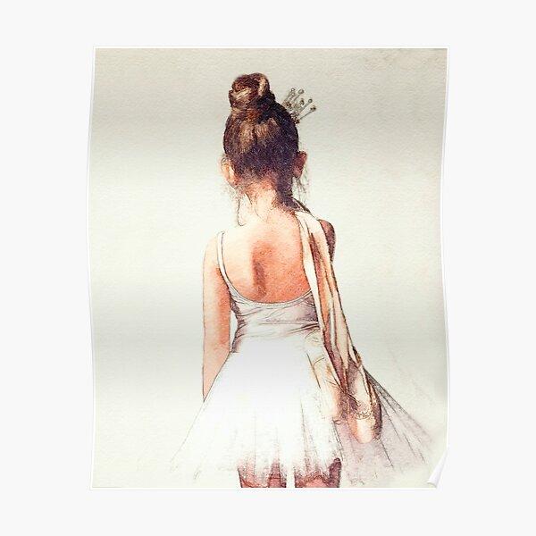 Off to Ballet Class: Sweet Ballerina Poster