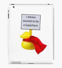 Superhero Duck iPad Case/Skin
