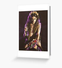 ADORE DELANO Greeting Card