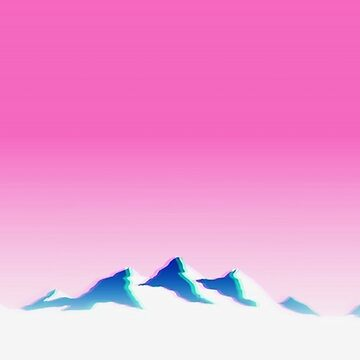 Vaporwave Mountains by Eag2000