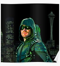 CW - Green Arrow of Star City Poster