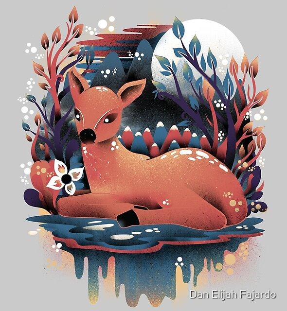 The Red Deer by Dan Elijah Fajardo