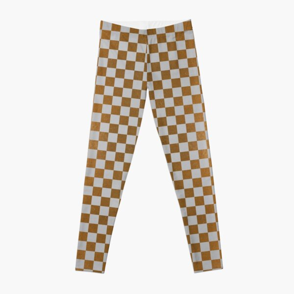 Golden Touch Checkerboard and Heart Leggings