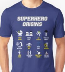 Superhero Origins Unisex T-Shirt