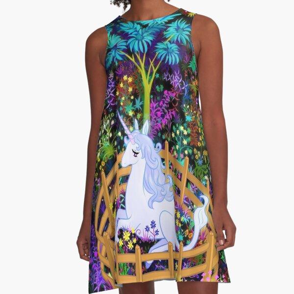 The Last Unicorn in Captivity A-Line Dress
