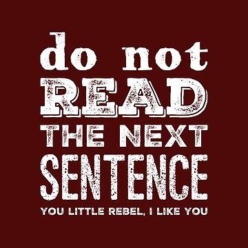 Do Not Read by samiluan