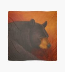 Darkly Dreaming Black Bear Scarf