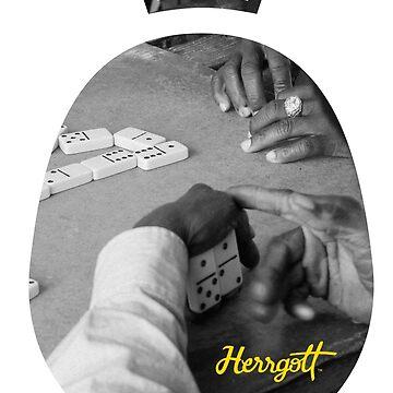 Original Herrgott dominos by benherrgott