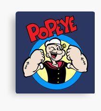 Popeye Canvas Print