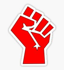 SOCIALIST FIST Sticker