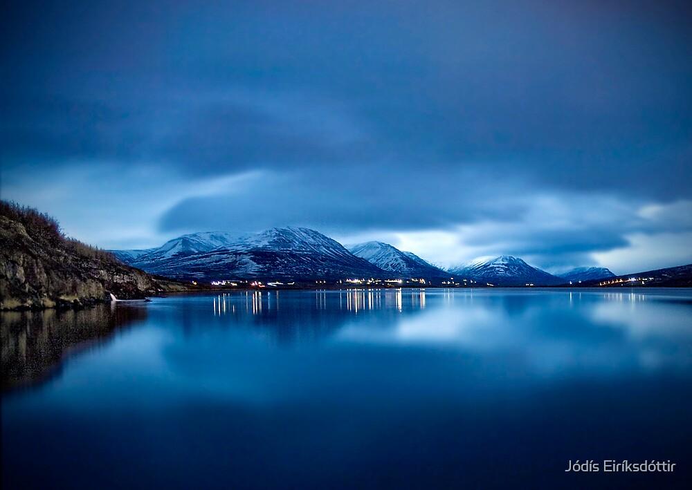 Peacefully Blue by Jódís Eiríksdóttir