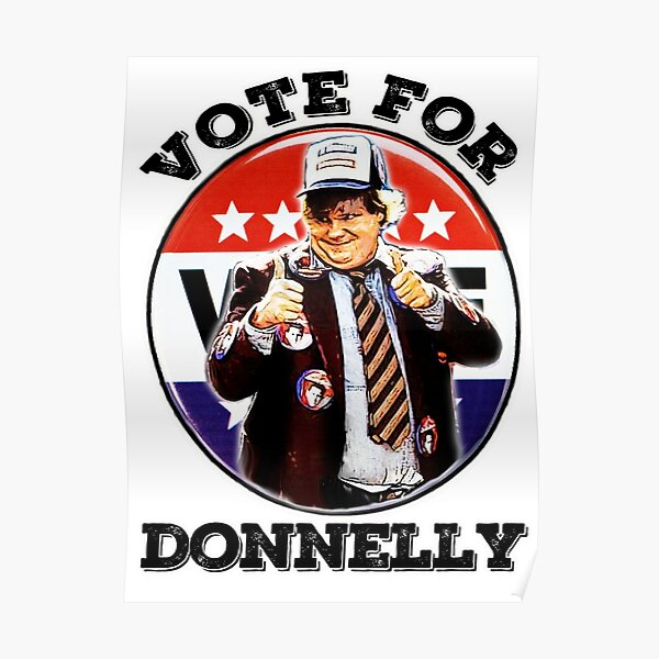 vote for Donnelly Poster
