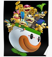 SUPER SMASH BROS: Cup of Characters Advertising Print Poster