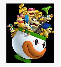 SUPER SMASH BROS: Cup of Characters Advertising Print Photographic Print
