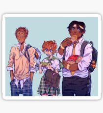 Voltron High School AU Sticker