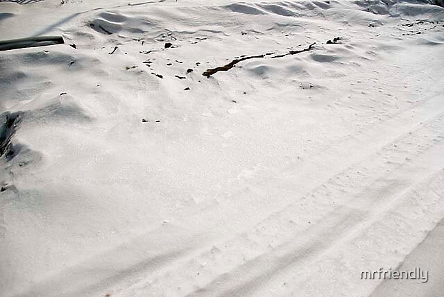 Hills of mud and Snow by mrfriendly