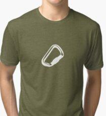 Kletter-Gear: Karabiner Tri-blend T-Shirt