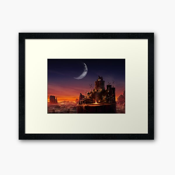 Cosmo Canyon Framed Art Print
