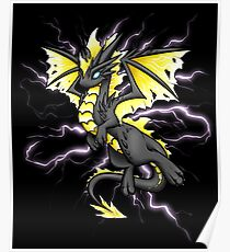 Lightning Dragon Poster