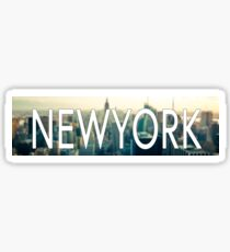 NEWYORK - Best city bumper sticker! Sticker