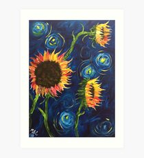 Flowers from Vincent Art Print