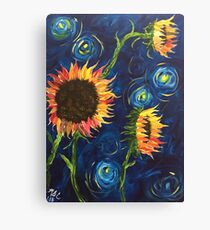 Flowers from Vincent Canvas Print