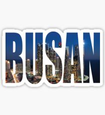 Busan Sticker