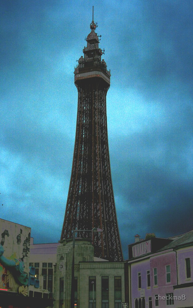 Blackpool tower by checkma8