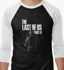 """The Last Of Us Part 2 """"Winter Song"""" (black & white) Men's Baseball ¾ T-Shirt"""