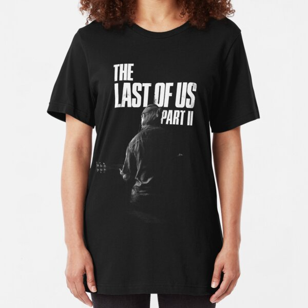 """The Last Of Us Part 2 """"Winter Song"""" (black & white) Slim Fit T-Shirt"""
