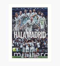 Hala Madrid Kunstdruck