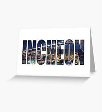 Incheon Greeting Card