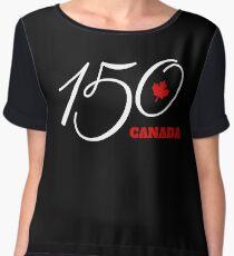 Canada 150, Canada Day Celebration Tshirt / Decor Women's Chiffon Top