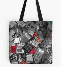 Strike with color Tote Bag