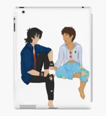 Sunshine Boys: transparent [Klance]  iPad Case/Skin