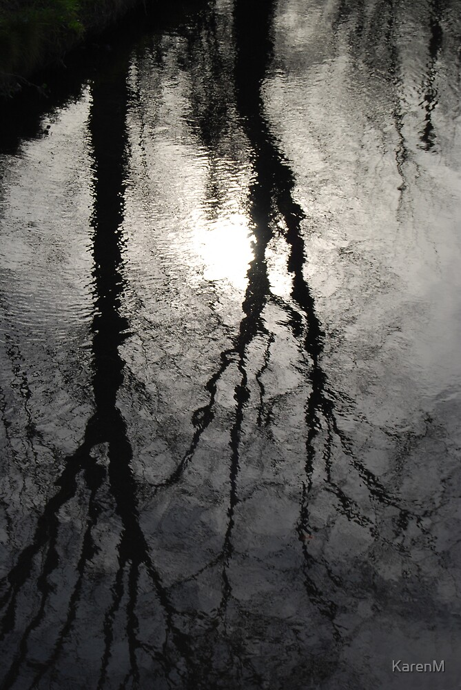 Stream Reflections by KarenM