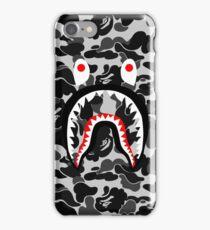 camo black iPhone Case/Skin