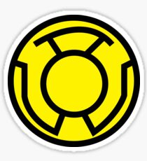 Yellow Lantern Sticker