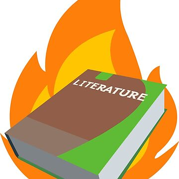 Literature Book on Fire by Puppy-