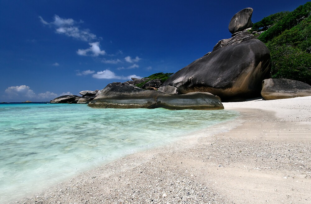 The Blue, Blue Similans by Robert Mullner